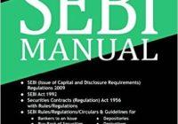 SEBI manual