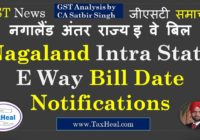 Nagalnd intra state eway bill