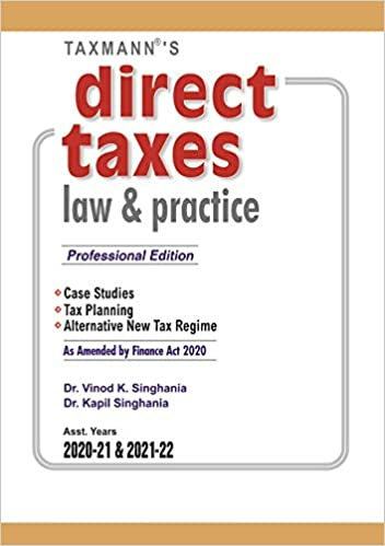 direct tax law and practice